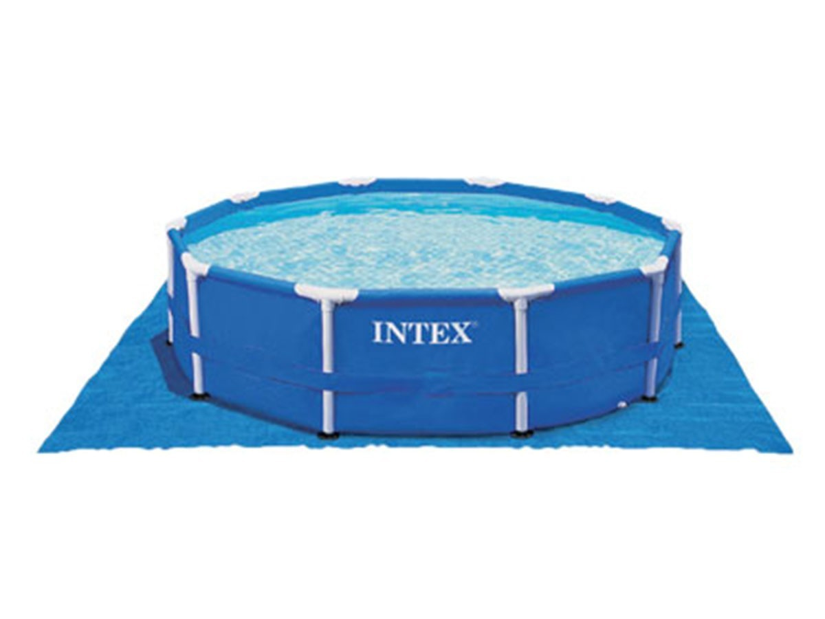 tapis de sol pour piscine ronde intex jardideco. Black Bedroom Furniture Sets. Home Design Ideas