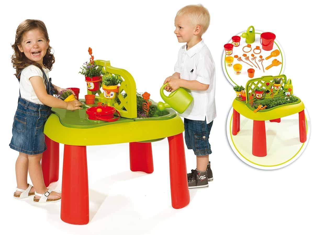 table de jardinage pour enfant accessoires smoby jardideco. Black Bedroom Furniture Sets. Home Design Ideas
