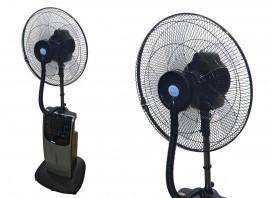 Ventilateur brumisateur d'intérieur H. 135 cm