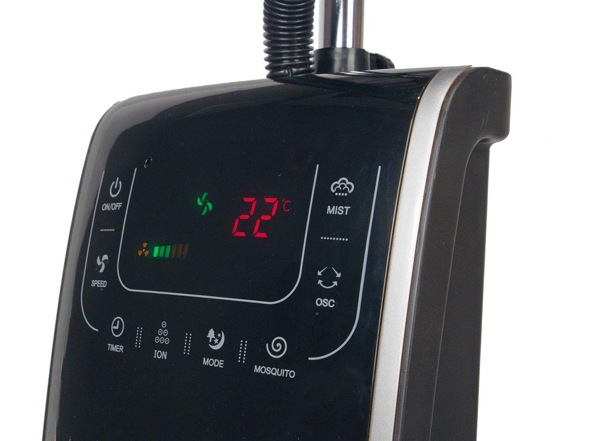 Ventilateur brumisateur d 39 int rieur h 135 cm jardideco - Ventilateur brumisateur d interieur ...