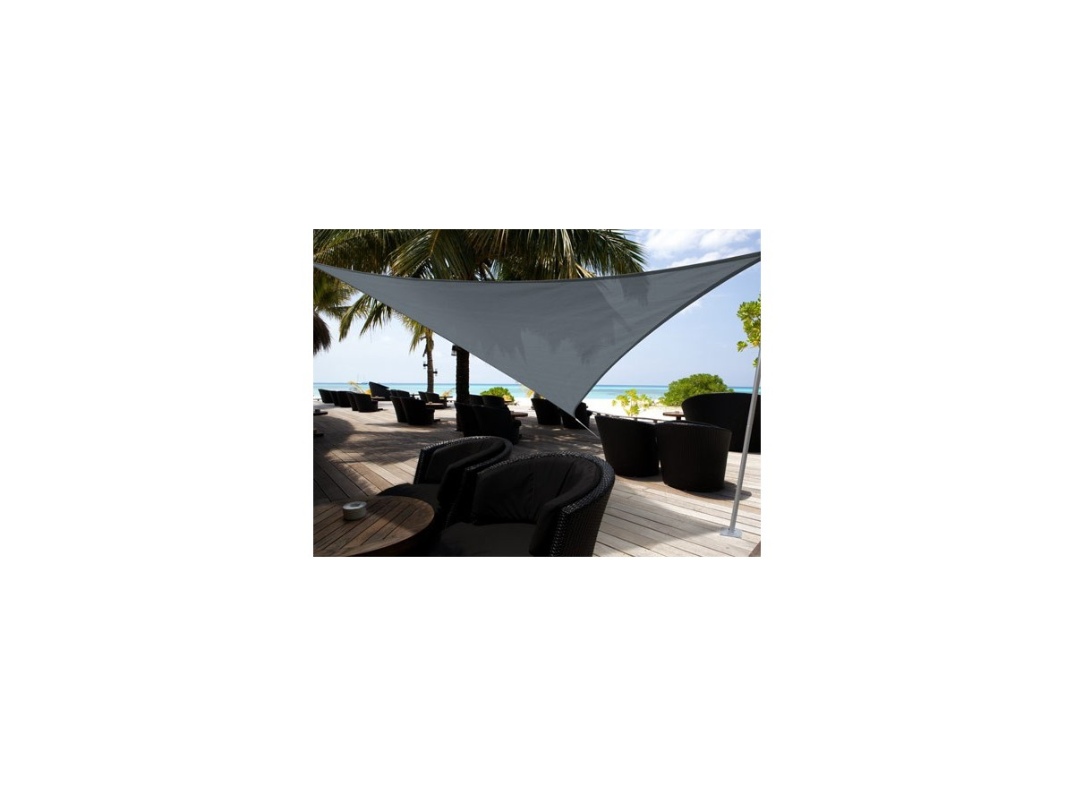 voile d 39 ombrage jardin triangulaire 5 00 m austral jardideco. Black Bedroom Furniture Sets. Home Design Ideas