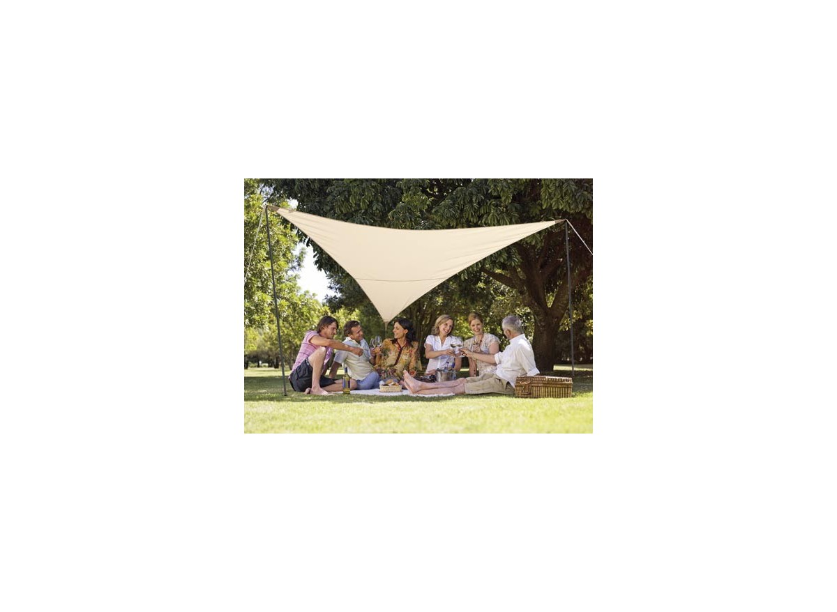 Voile d ombrage triangle rectangle au camping voile duombrage extensible triangle xxm with - Voile d ombrage triangle rectangle ...