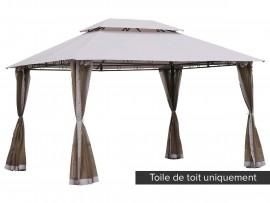 Toile de toit pour la tonnelle Fogo