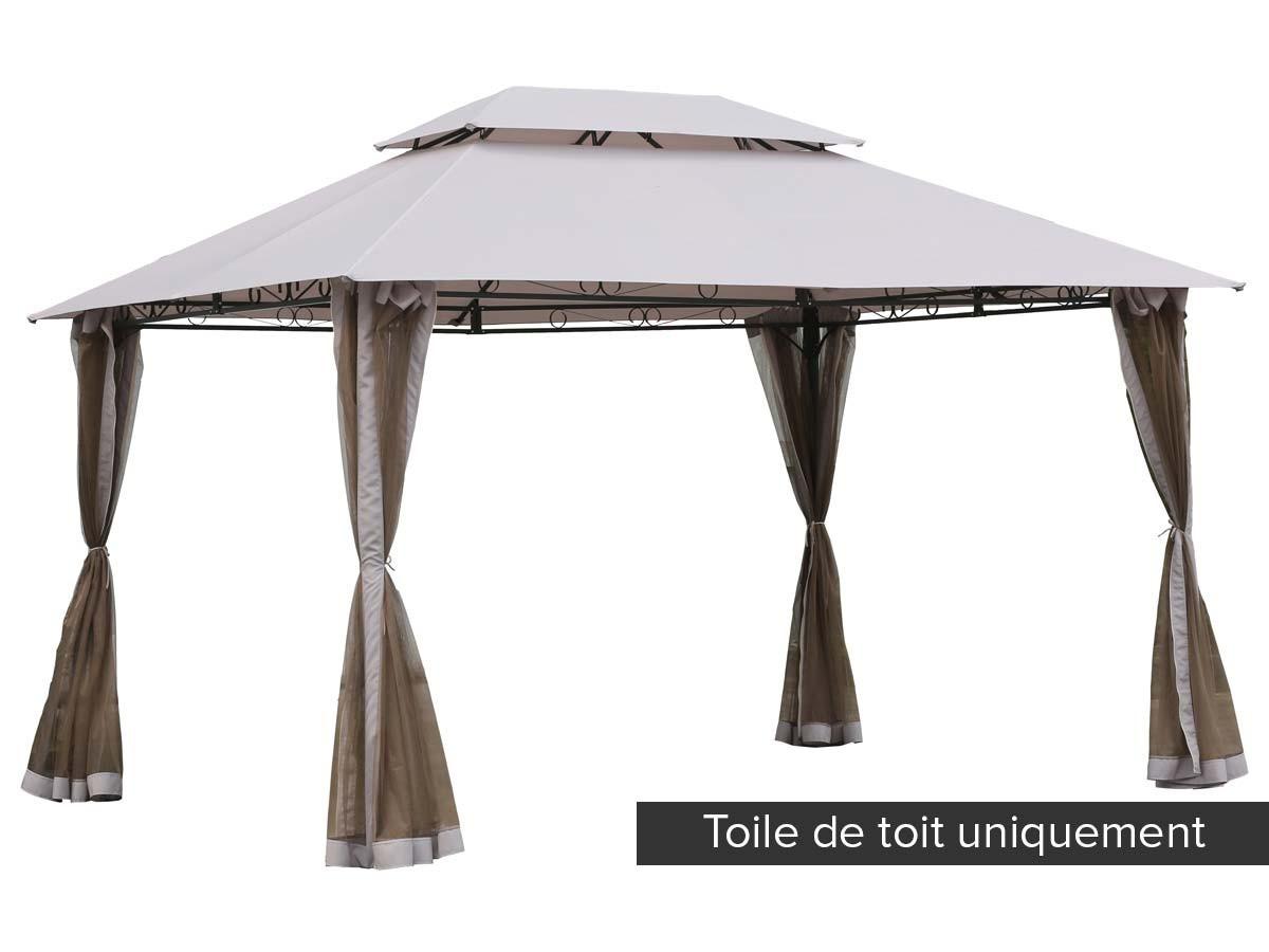 toile de toit pour la tonnelle fogo hesp ride jardideco. Black Bedroom Furniture Sets. Home Design Ideas