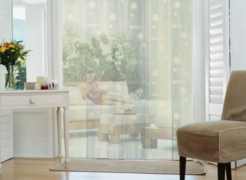 rideau de porte moustiquaire d corative jardideco. Black Bedroom Furniture Sets. Home Design Ideas