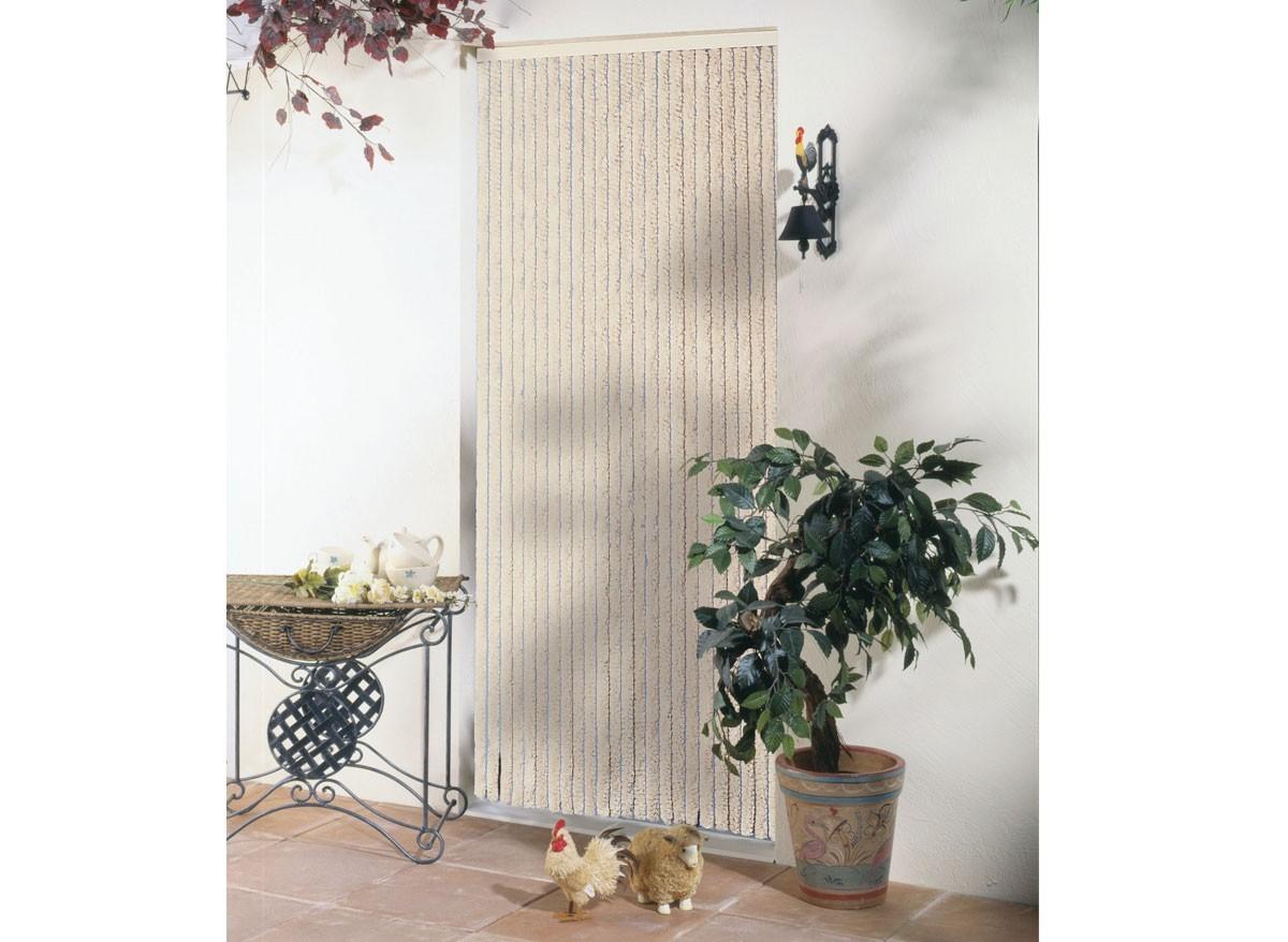 rideau de porte chenille florence. Black Bedroom Furniture Sets. Home Design Ideas