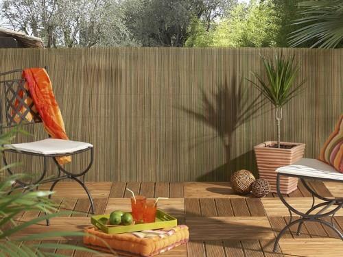 brise vue roseau synth tique exel reed en rouleau de 3 m. Black Bedroom Furniture Sets. Home Design Ideas