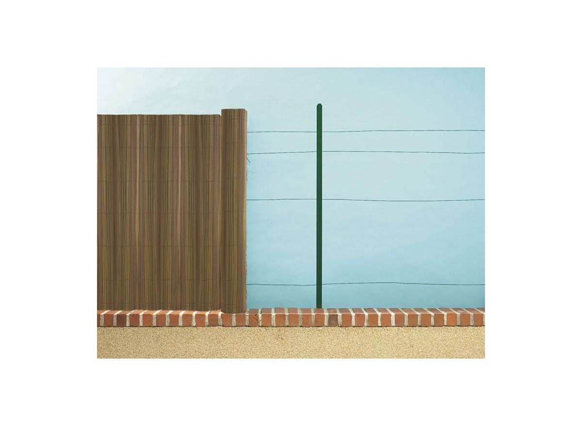 Brise vue roseau synth tique exel reed en rouleau de 3 m nortene for Cloture jardin roseau