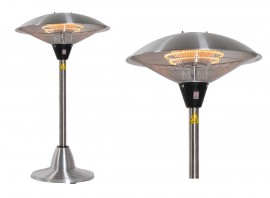 Parasol chauffant électrique de table Milan