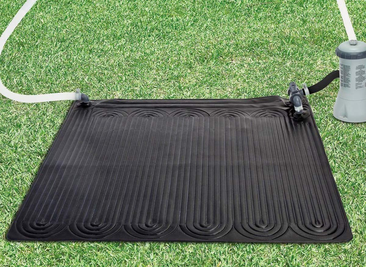 Chauffage tapis solaire pour piscine jusqu 39 30 m jardideco for Tapis sous piscine
