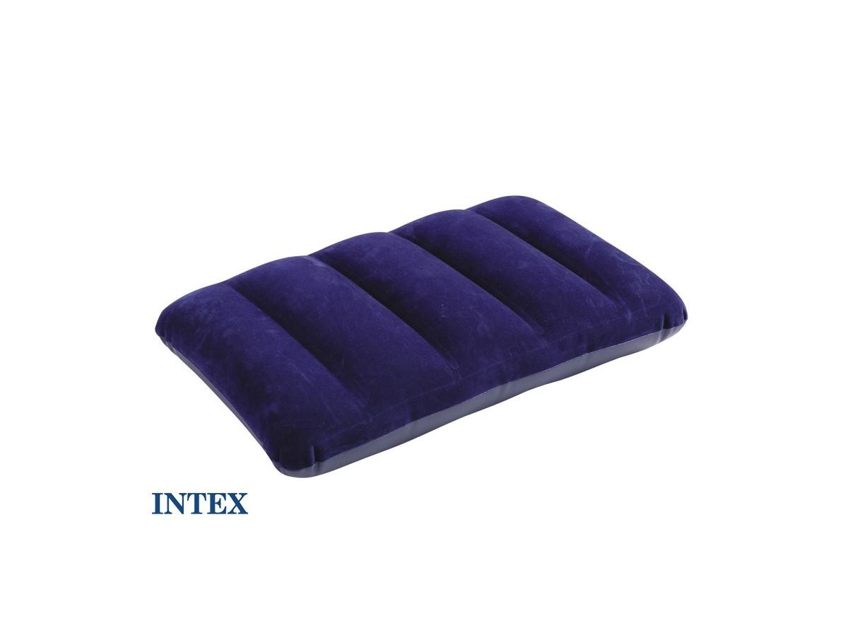 coussin oreiller gonflable floqu intex jardideco. Black Bedroom Furniture Sets. Home Design Ideas