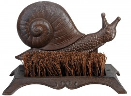 Brosse pieds décoration Animal fonte