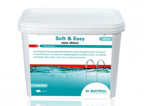 Soft and Easy 16 oxygène actif en sachets pour 20 m³