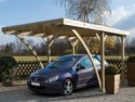 Carport MILANO UNO 1 voiture JARDIPOLYS - 16,32m²