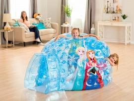 Cabane enfant - Igloo gonflable Reine des Neiges