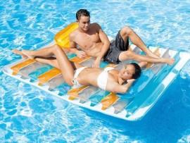 Matelas de piscine double Vis-à-vis