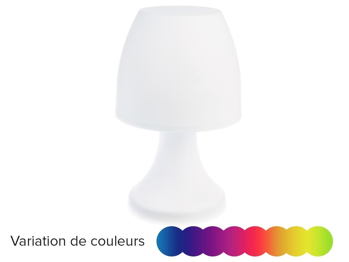 lampe champignon poser avec couleur variantes jardideco. Black Bedroom Furniture Sets. Home Design Ideas