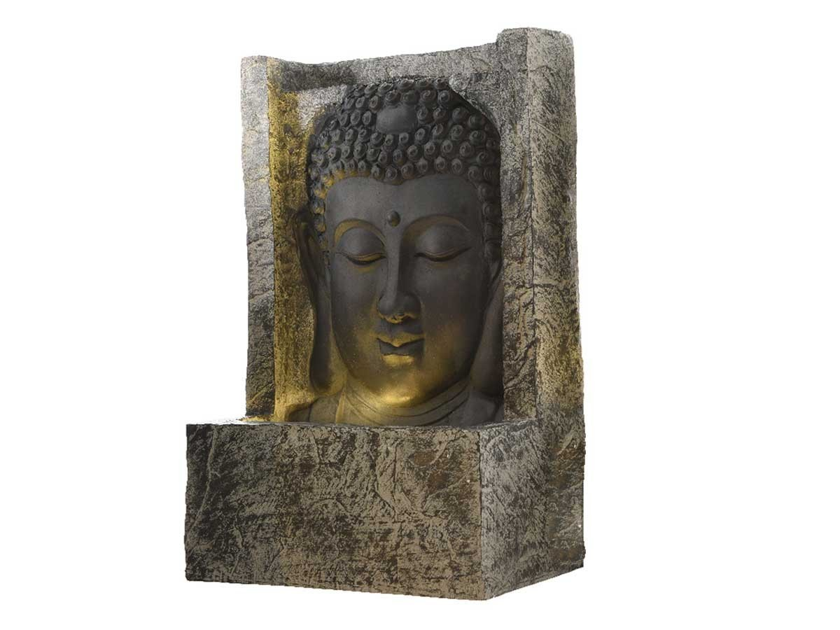 fontaine de jardin kaemingk mod le bouddha petit prix. Black Bedroom Furniture Sets. Home Design Ideas