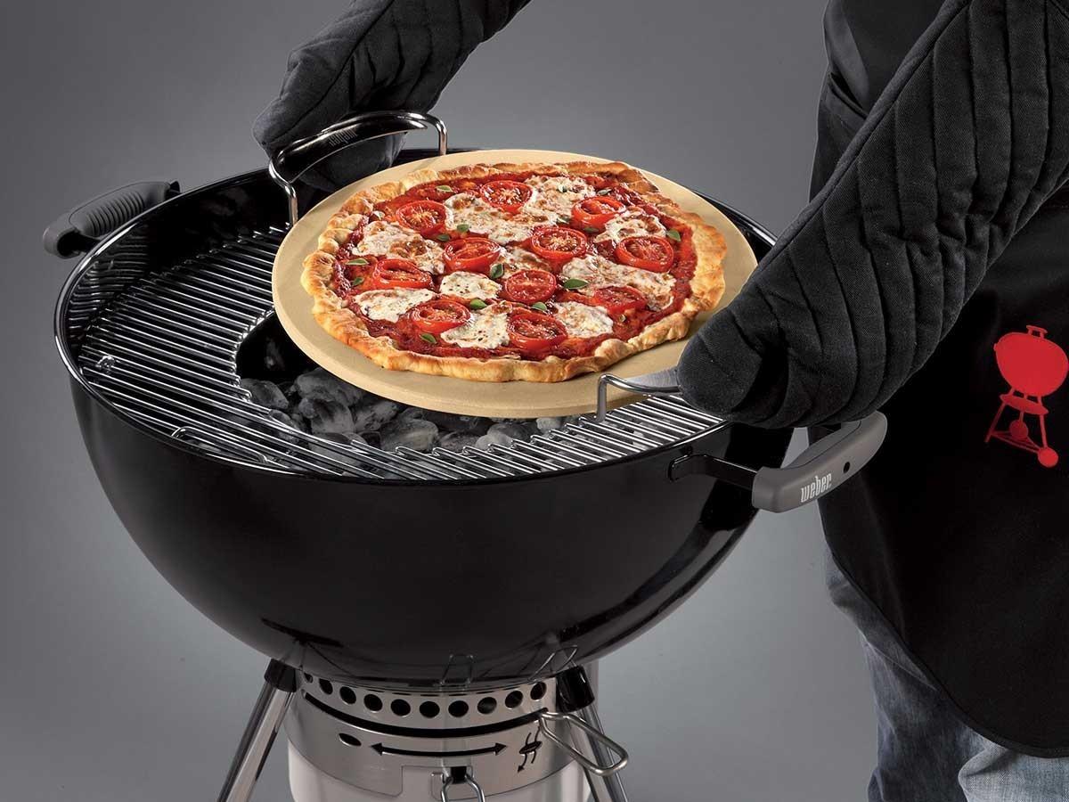 barbecue weber recette pizza. Black Bedroom Furniture Sets. Home Design Ideas