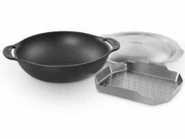 Gourmet System - Wok pour barbecue Weber