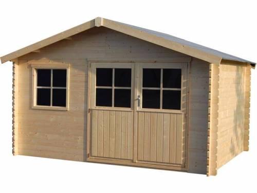 Abri de jardin bois Flodéal 28 mm - 11,92 m²