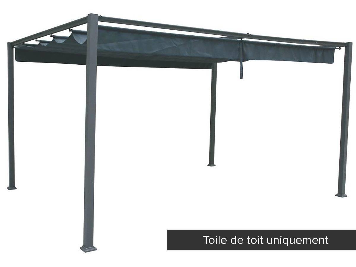 Eclairage Solaire Pour Tonnelle toile de toit pour la tonnelle palmeira -