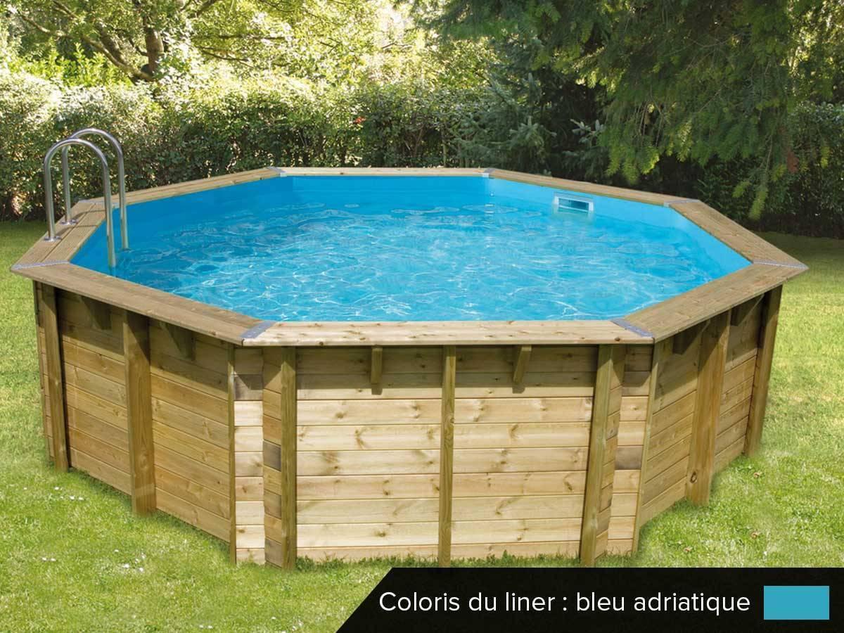 piscine bois pas cher ocea 5 80 x 1 30 m ubbink jardideco. Black Bedroom Furniture Sets. Home Design Ideas