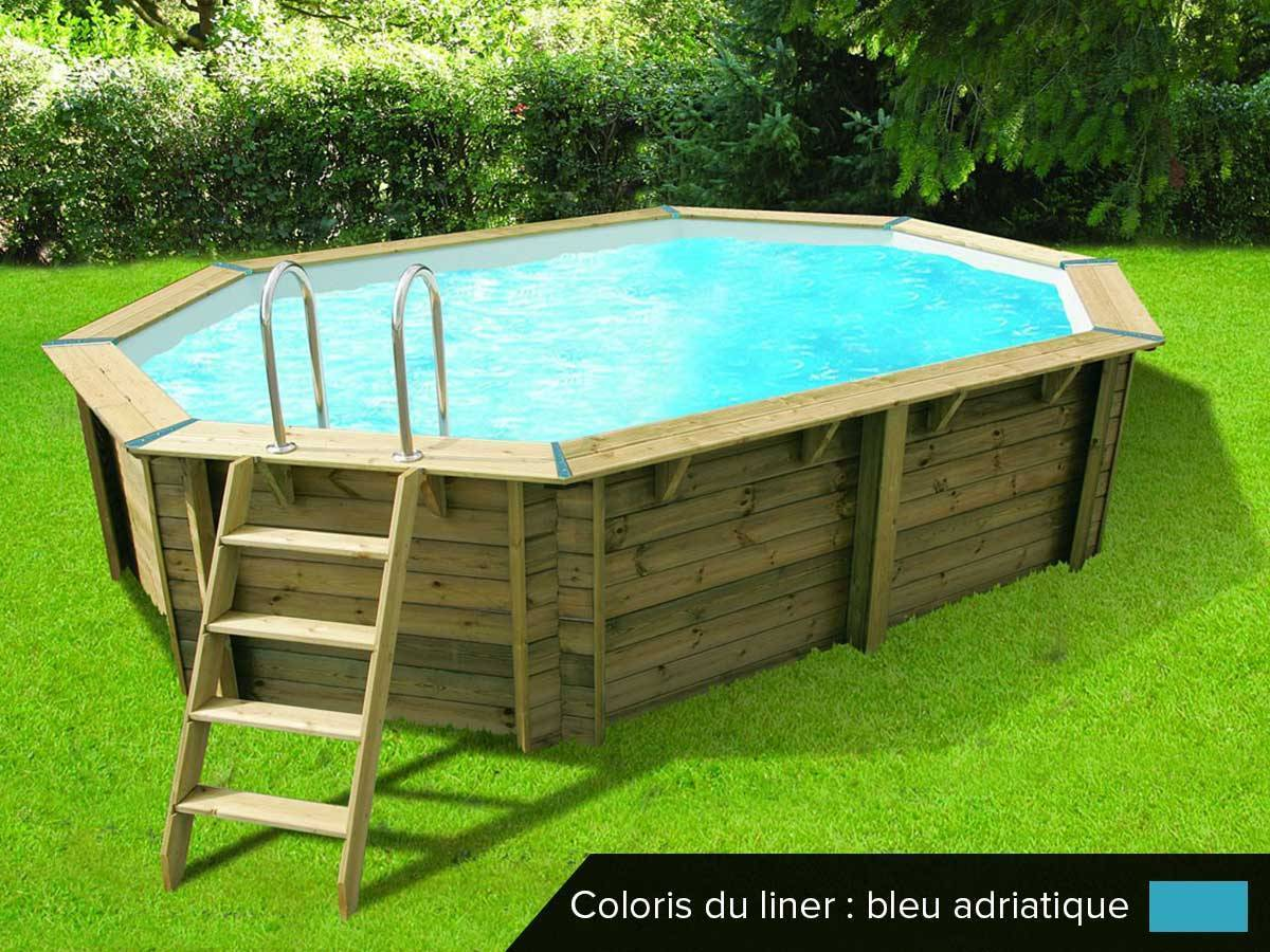 piscine bois ubbink oc a 5 5 x 3 55 x 1 2 m filtration. Black Bedroom Furniture Sets. Home Design Ideas