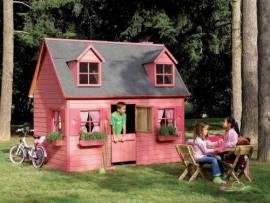 Cabane enfant Rosalie en bois