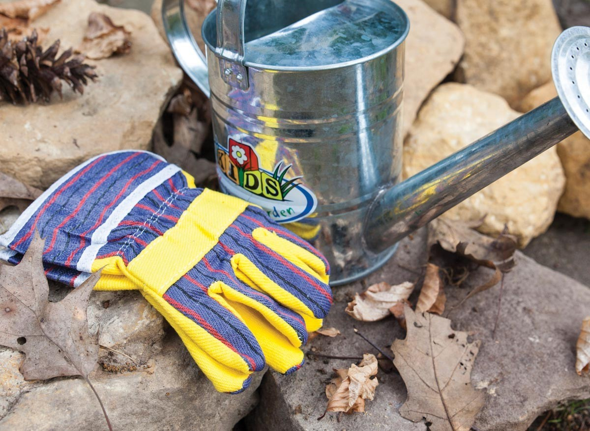 gants de jardin pour activit jardinage enfant jardideco. Black Bedroom Furniture Sets. Home Design Ideas