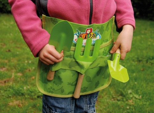 Ceinture avec outils de jardin pour enfants jardideco - Outils de jardinage enfant ...