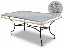 Housse de protection Luxe pour table extérieure rectangulaire