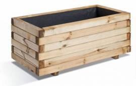 Jardinière en bois rectangulaire Stockolm
