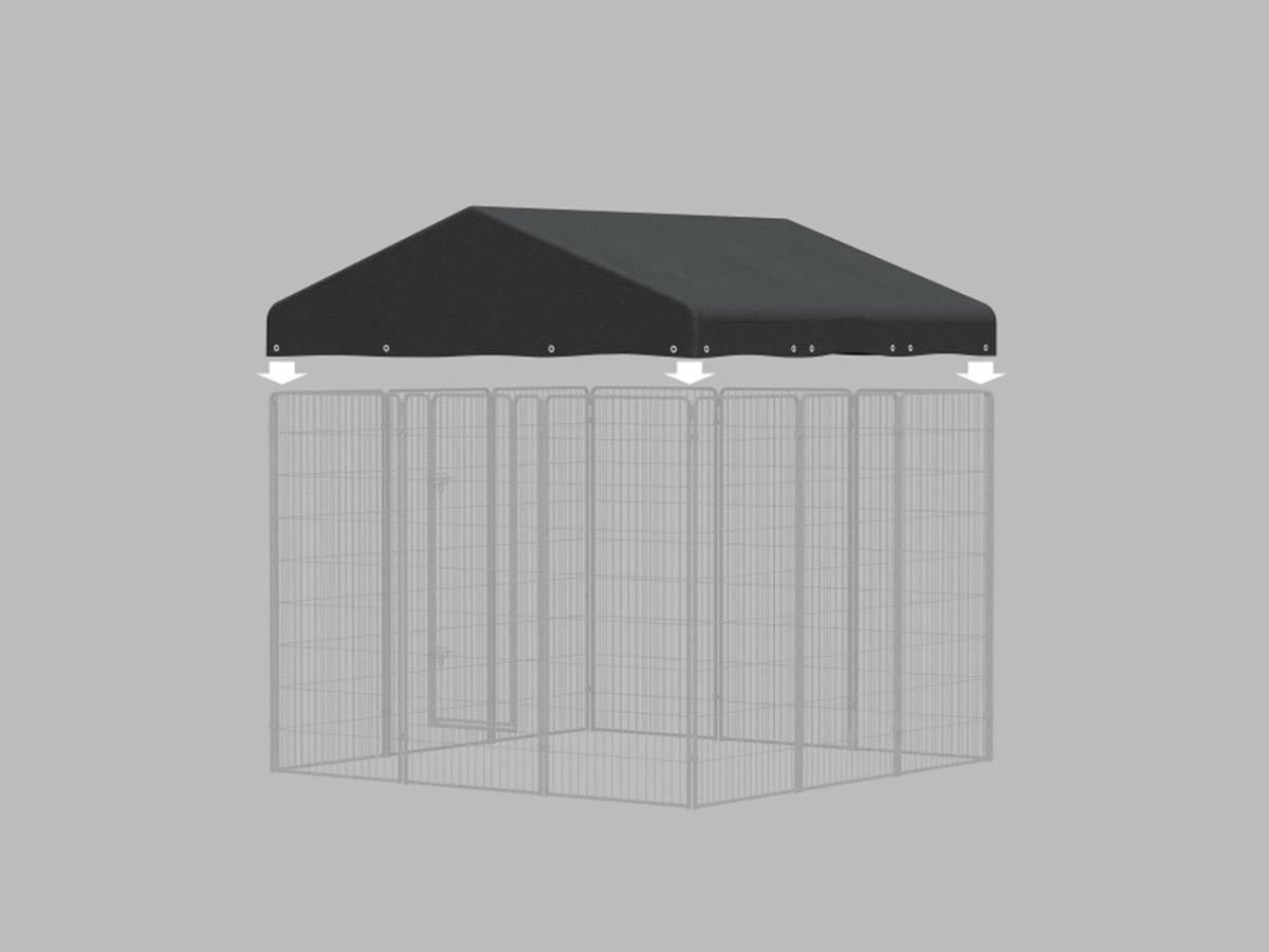 toiture pour kit chenil pour chien zolux pas cher. Black Bedroom Furniture Sets. Home Design Ideas