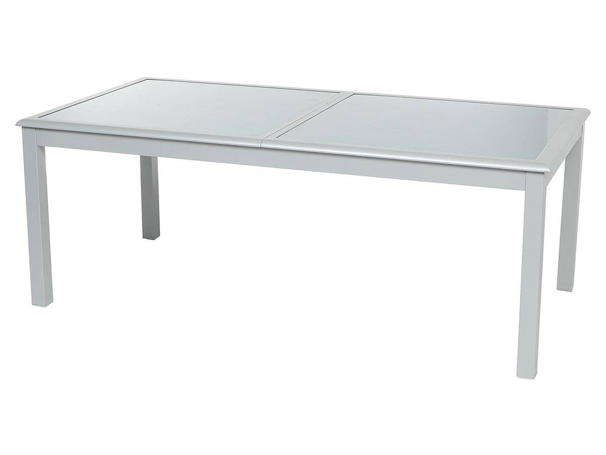 Table de jardin hesp ride extensible azua 8 12 places jardideco - Table extensible 12 personnes ...