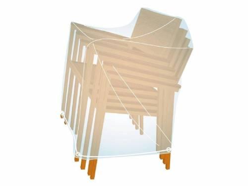 Housse de protection pour pile de chaises