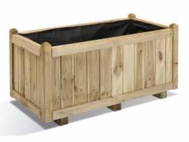 Jardinière en bois rectangulaire Vendôme