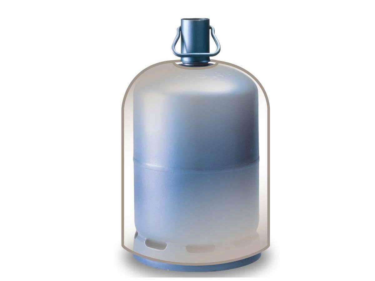 Housse luxe pour bouteille de gaz for Housse pour barbecue gaz