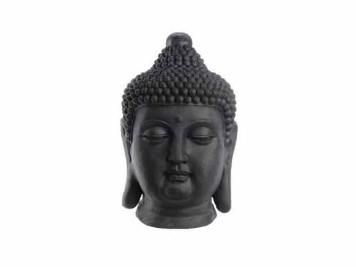 Statue ext rieure d corative mod le t te de bouddha kaemingk for Tete de bouddha deco