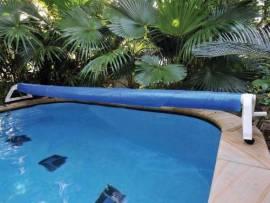 Enrouleur de bache bulle pour piscine hors sol for Enrouleur piscine enterree pour bache a bulles