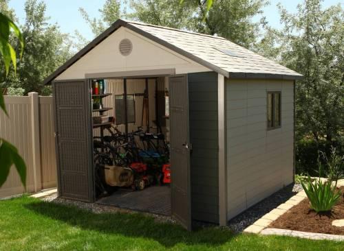 abri de jardin pvc century 6433 11 22 m jardideco. Black Bedroom Furniture Sets. Home Design Ideas