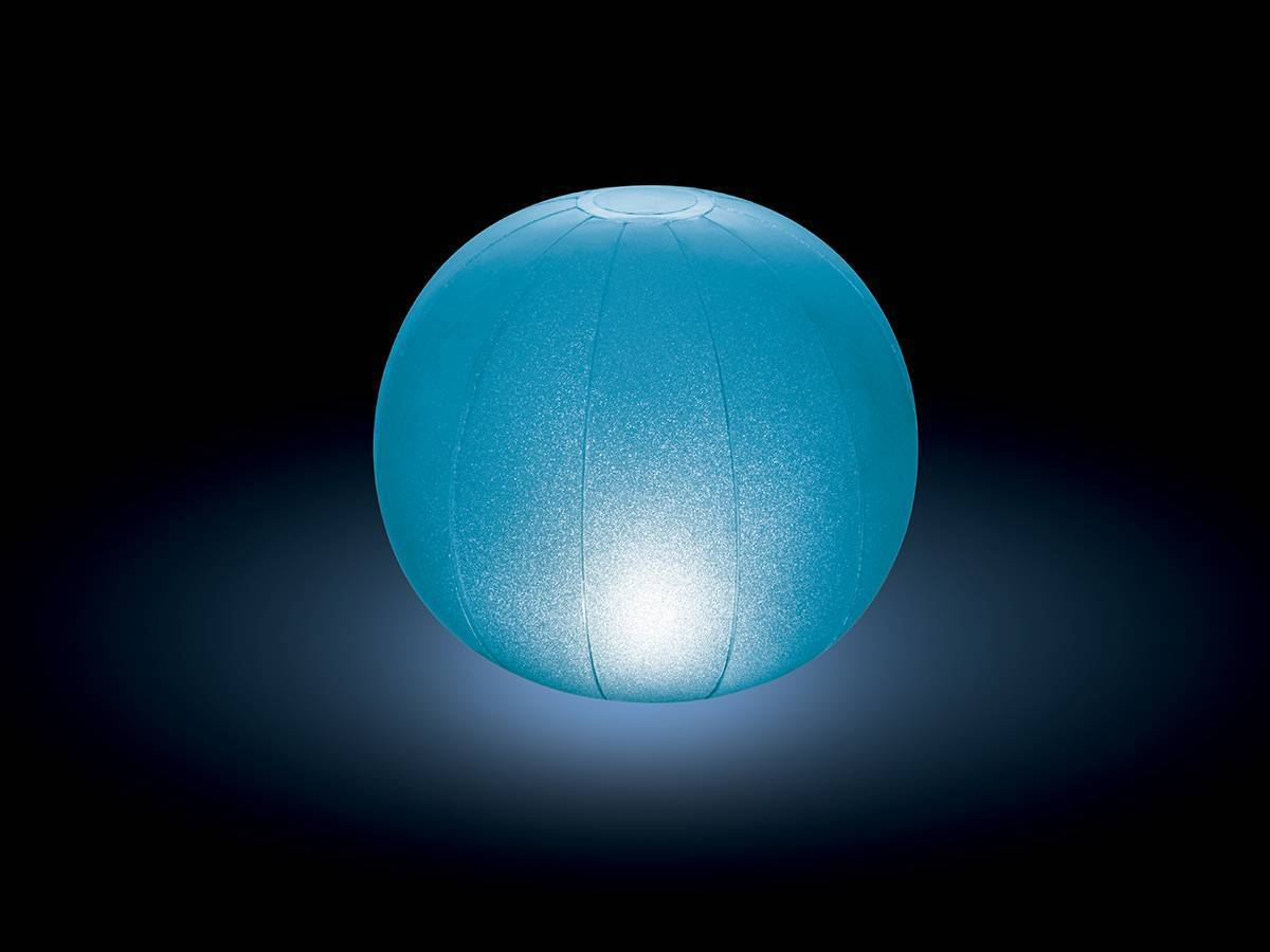 Lampe led flottante pour piscine hors sol enterr e intex for Lumiere led piscine hors sol