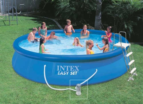 Piscine autoport e intex for Piscine autoportee intex leclerc