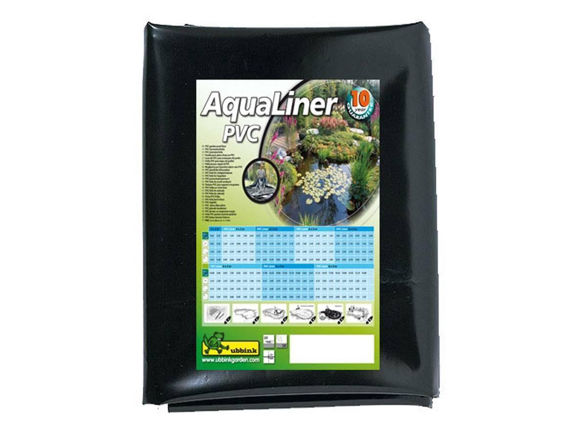B che pour bassin de jardin en pvc aqualiner ubbink for Liner pour bassin