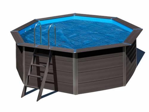 B che bulles pour piscine gr composite octogonale - Bache bulle pour piscine ...