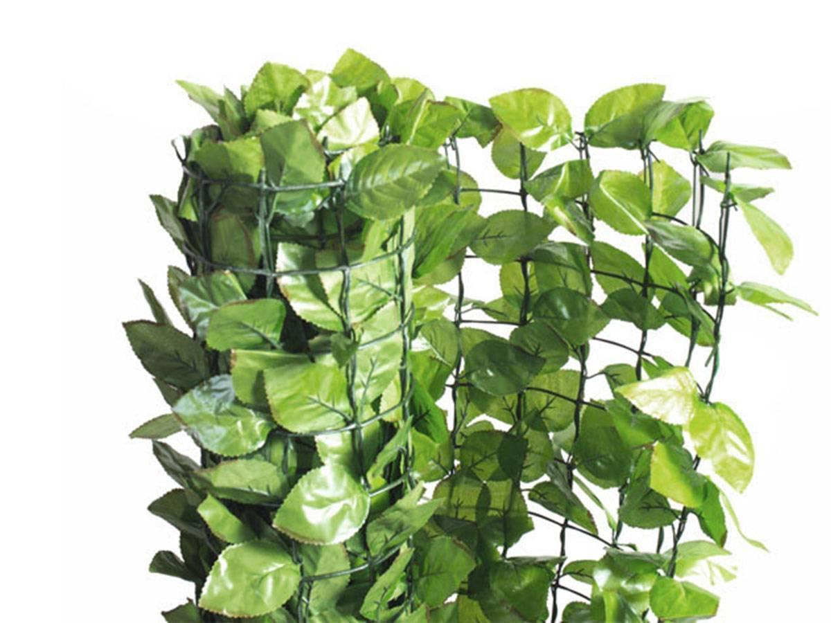 Haie artificielle en feuilles de rosier taille au choix france green - Feuilles de rosier qui jaunissent ...