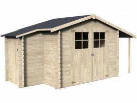 Abri de jardin bois 19 mm - 6,16 m²