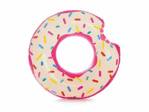 bou e gonflable r aliste donut 107 cm pour piscine plage. Black Bedroom Furniture Sets. Home Design Ideas