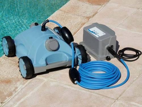 robot de piscine lectrique mod le robotclean 2 ubbink. Black Bedroom Furniture Sets. Home Design Ideas