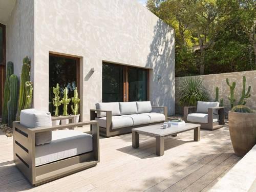 Salon de jardin aluminium et métal Hespéride à petit prix